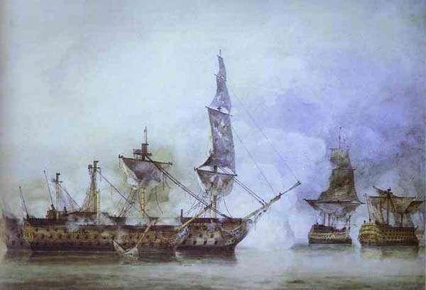 Batalla de Trafalgar - el Victory